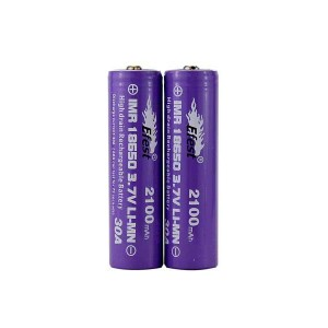 Efest IMR 30A 18650 Nipple Top Battery 2100 mAh - 2 Pack