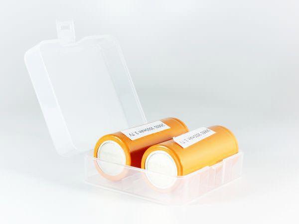2 x 26650 Battery Case