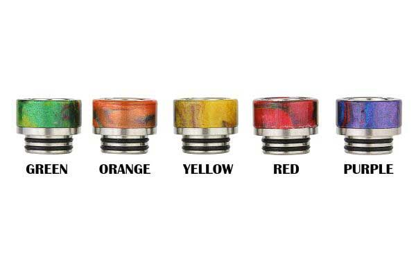 TFV8 TFV12 Resin Drip Tip - Style 141