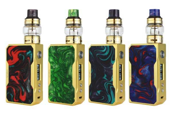 VooPoo Gold Frame Drag 157W TC Kit Resin