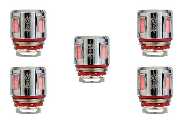 Smok V8 Baby - T12 Red Light Replacement Coil - 5 Pack