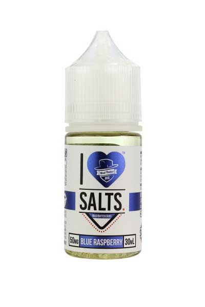 I Love Salts Blue Raspberry 30ml E-Juice - Mad Hatter Vape Juice