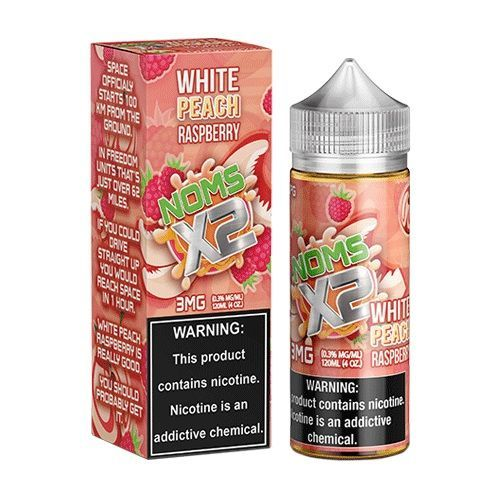 Noms X2 White Peach Raspberry