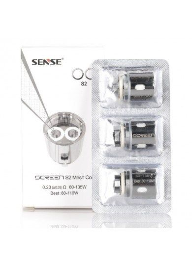 Sense S2 Double Mesh Replacement Coil - 3 Pack