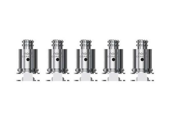 Smok Nord Porcelain Replacement Coil - 5 Pack
