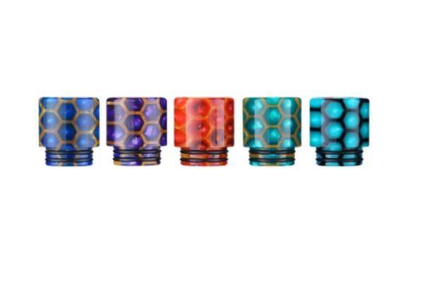 TFV8 TFV12 Snake Skin Resin Drip Tip - Style 226