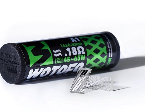 Wotofo Kanthal A1 Mesh Coil Sheets - 10 Pack - 0.18 ohm