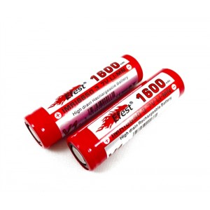 Efest IMR 30A 18650 Flat Top Battery 1,600 mAh Battery