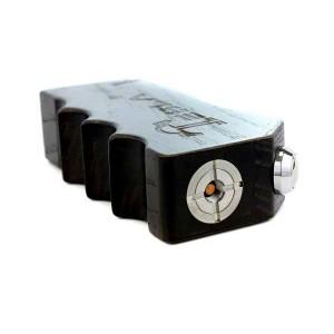 Tesla Invader Box Mod - Black Action Top