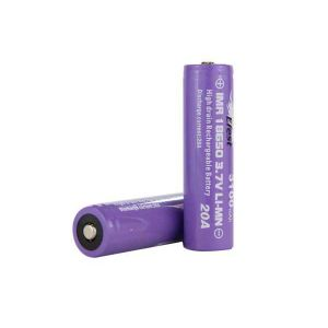 Efest IMR 20A 18650 Nipple Top Battery 3100 mAh - 2 Pack