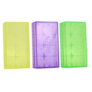 Imren 18650 Plastic Battery Case - 2 bay