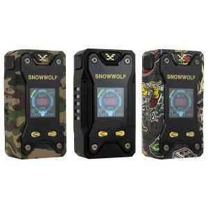 Snowwolf XFENG 230W TC Box Mod Colors