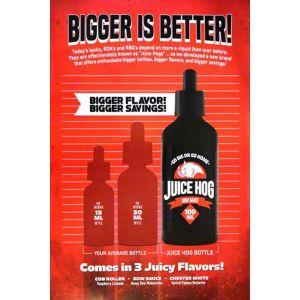Juice Hog Poster