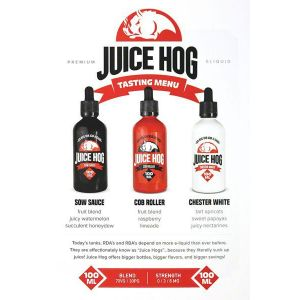 Juice Hog Flavor Menu - 25 pack