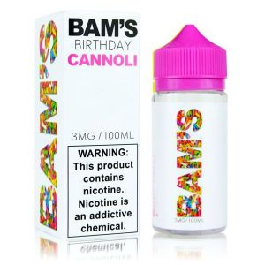 Bam's Cannoli Birthday Cake Cannoli