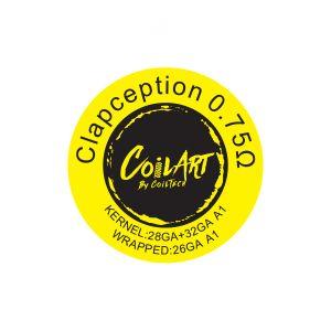 CoilArt Clapception Prebuilt Coil - 10 pack