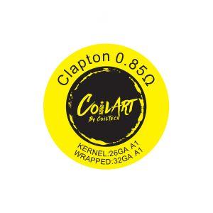 CoilArt Clapton Prebuilt Coil - 10 pack