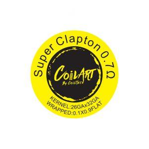 CoilArt Super Clapton Prebuilt Coil - 10 pack