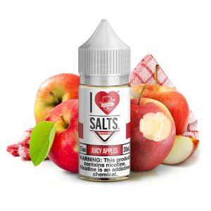 Mad Hatter Vape Liquids - Juicy Apples 30ml Nic Salt
