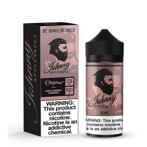 Johnny Applevapes Apple Bread Pudding