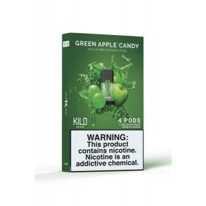 Kilo 1K Green Apple Candy - 4 Pack