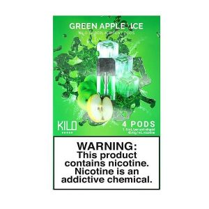 Kilo 1K Green Apple Ice Pod - 4 Pack