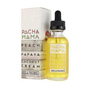 PachamamaPeach Papaya Coconut Cream