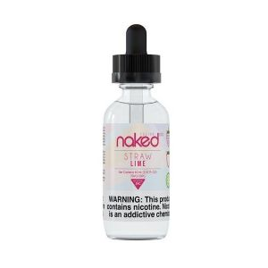 Straw Lime 60ml E-Juice by Naked 100 Fusion