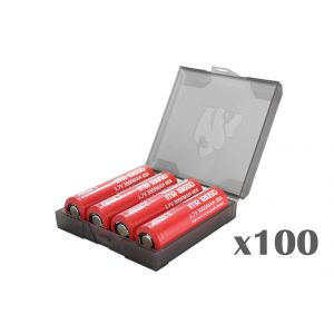 Chubby Gorilla Quad 18650 Battery Case - 100 pack