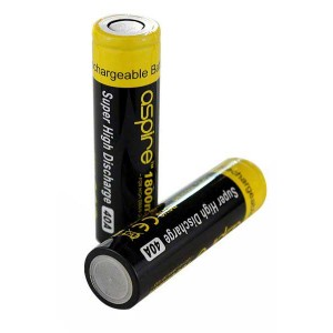 Aspire 40A 18650 1800 mAh Battery - 2 Pack
