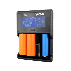 XTAR VC4 Charger with Batteries