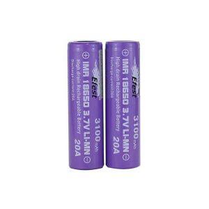 Efest IMR 20A 18650 Flat Top Battery 3100 mAh - 2 Pack