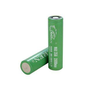 Imren IMR 18650 35A 2800 mAh flat top battery - 2 pack