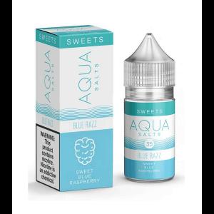 Aqua Salts Blue Razz