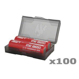 Chubby Gorilla Dual 18650 Battery Case - 100 pack