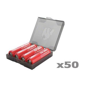 Chubby Gorilla Quad 18650 Battery Case - 50 pack