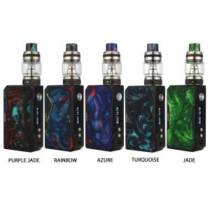 VooPoo Black Frame Drag 157W TC Kit Resin