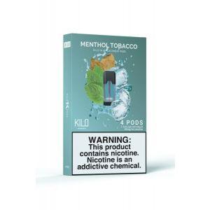 Kilo 1K Menthol Tobacco - 4 Pack